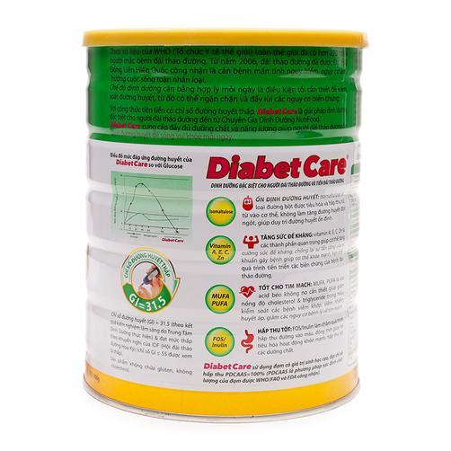 Sữa bột Diabet Care NutiFood lon 900g 1