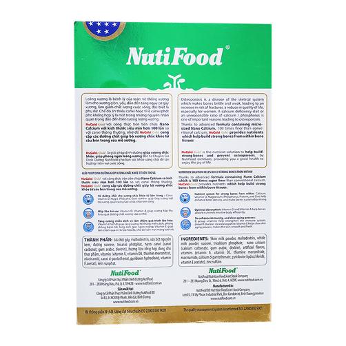 Sữa bột NuCalci Gold NutiFood hộp 400g 1