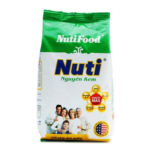 Sữa bột nguyên kem Nuti NutiFood gói 400g