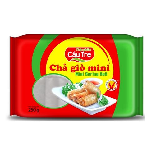 Chả giò mini thực phẩm cầu tre gói 250g