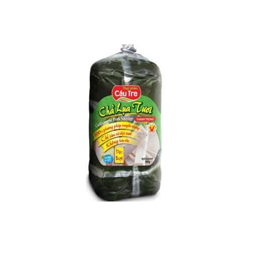 Chả lụa tươi đặc biệt thanh trùng thực phẩm cầu tre cây 250g