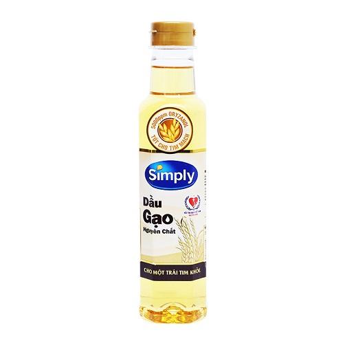dầu simply dầu gạo