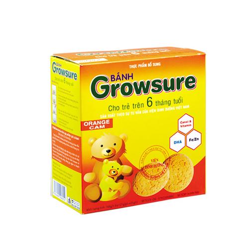 Bánh ăn dặm growsure cam hộp 168g…
