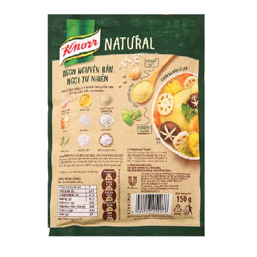 Bột nêm tự nhiên Knorr vị rau củ gói 150g.,.