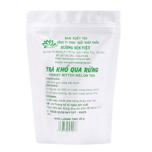 Trà Khổ Qua Rừng Hương Sen Việt Gói 25g