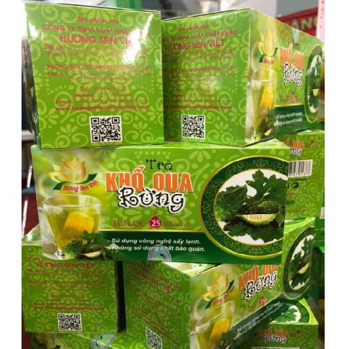 Trà Khổ Qua Rừng Hương Sen Việt Túi Lọc 25 Túi x 2g.,.