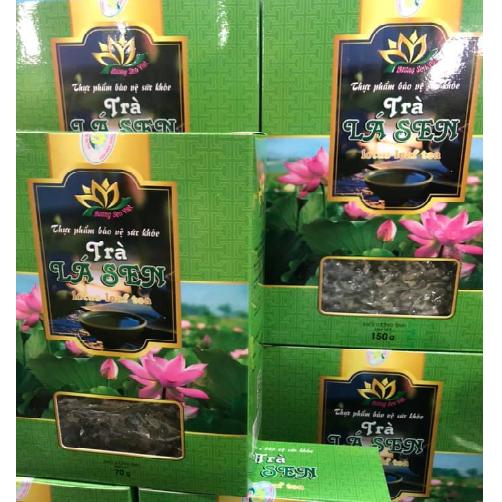 Trà Lá Sen Hương Sen Việt Hộp 150g.,.