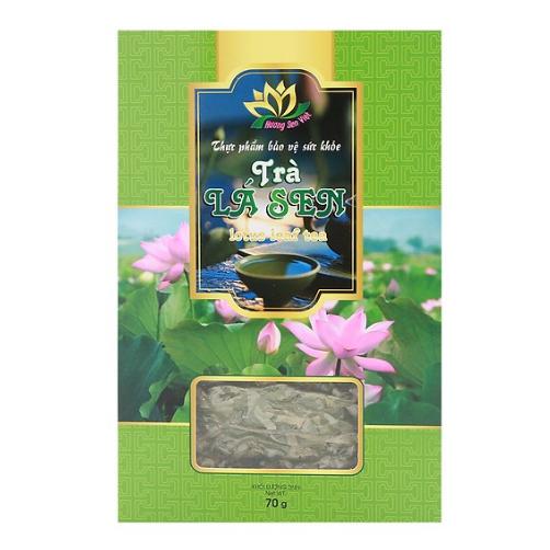 Trà Lá Sen Hương Sen Việt Hộp 70g