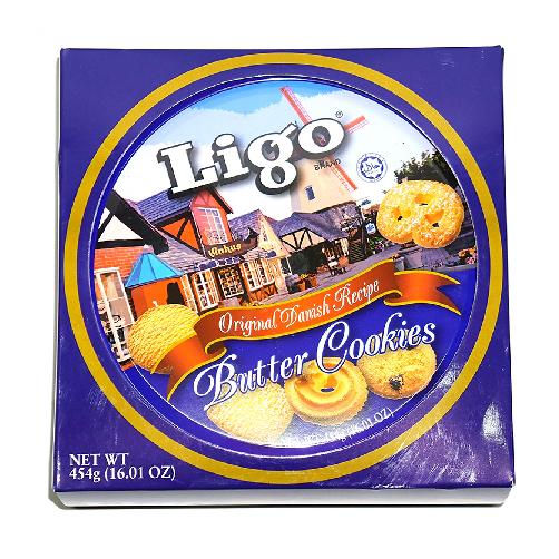 Bánh Quy Bơ Ligo hộp 454g