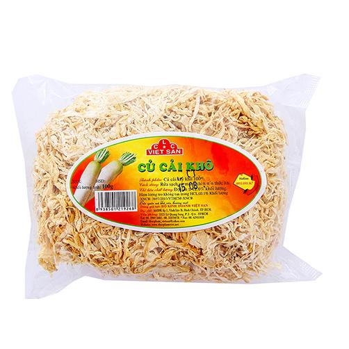 Củ Cải Khô Việt San Gói 100g