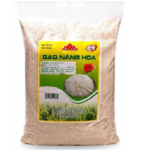 Gạo Nàng Hoa Việt San Gói 5kg