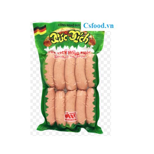 Xúc Xích Hong Khói Đức Việt Gói 500g