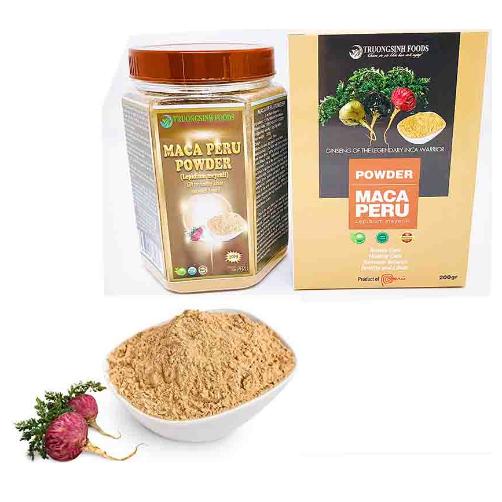 Bột Maca Peru Đỏ Truong Sinh Foods Hộp 200g