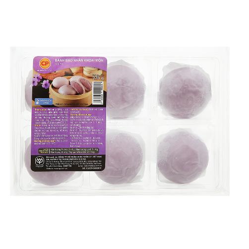 Bánh Bao Nhân Khoai Môn CP Gói 270g