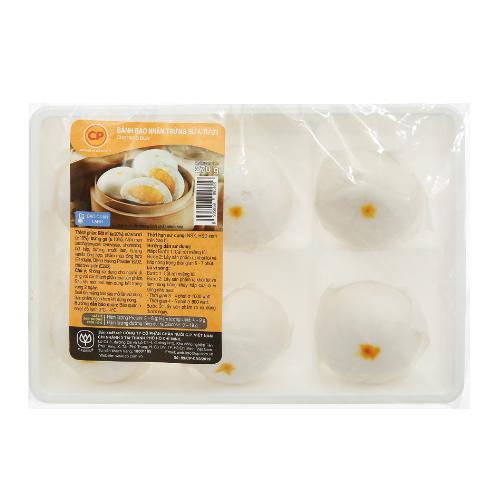 Bánh Bao Nhân Trứng Sữa Tươi CP Gói 270g