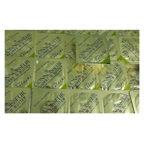 Bơ Lạt Zelachi Kiwifood Vỉ 8g x Hộp 10 Vỉ,