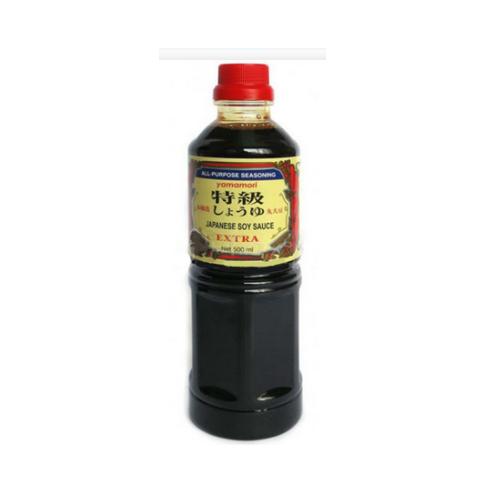 Nước Tương Japanese Soy Sauce Extra Yamamori Chai 500ml x Thùng 12 Chai