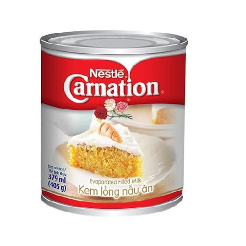 Kem Lỏng Nấu Ăn Nestle's Carnation Lon 405g x Thùng 48 Lon