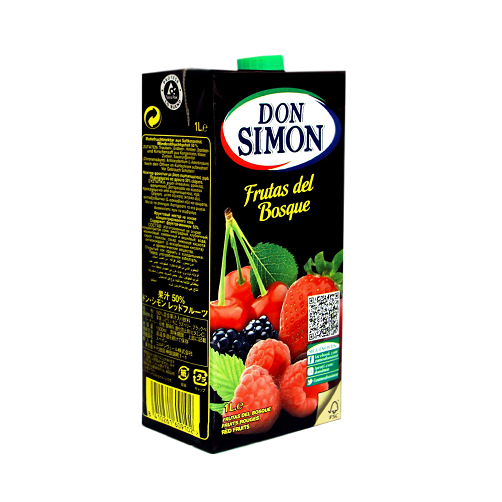 Nước Trái Cây Đỏ Don Simon Hộp 1L x Thùng 12 Hộp