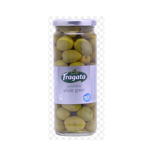 Olive Xanh Trái Nhỏ Nguyên Hạt Fragata Lọ 450g x Thùng 12 Lọ
