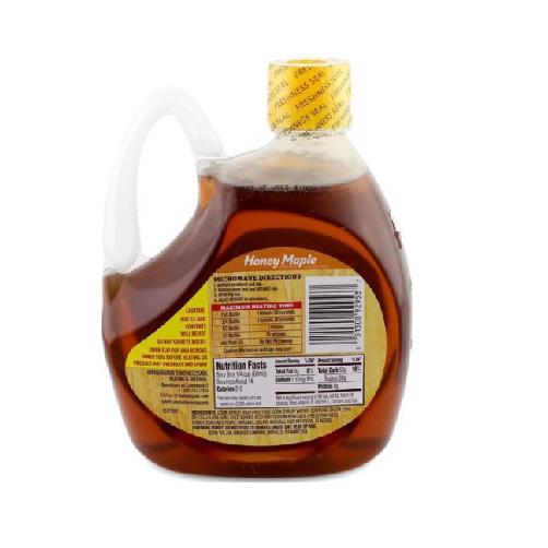 Siro Mật Ong Cây Thích Honey Maple Syrup Hungry Jack Chai 816ml x Thùng 6 Chai,