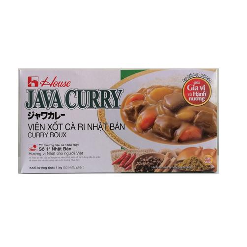 Viên Xốt Cà Ri Nhật Bản Java Hộp 1kg
