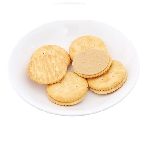 Bánh Magic Round Peanut Butter Gói 108g x Thùng 24 Gói,