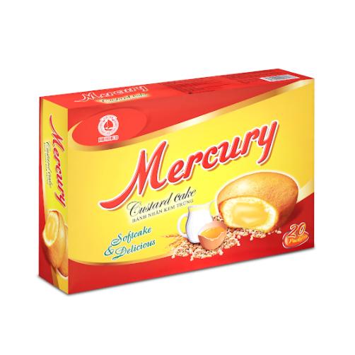 Bánh Mercury Hải Hà Gói 252g x Thùng 10 Gói