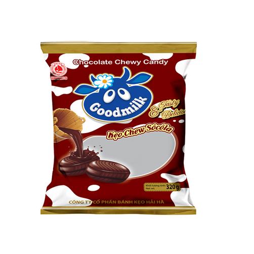 Kẹo Good Milk Sô Cô La Hải Hà Gói 320g x Thùng 20 Gói