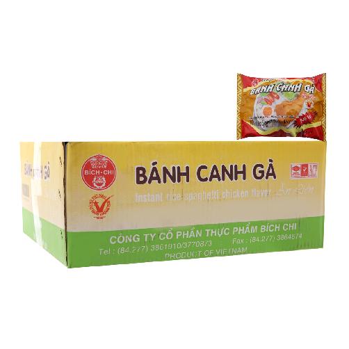 Banh Canh Ga Bich chi Goi 60g x Thung 30 Goi,