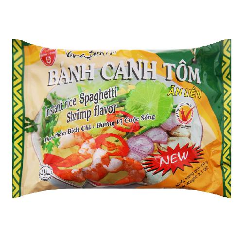 Banh Canh Tom Bich chi Goi 60g x Thung 30 Goi