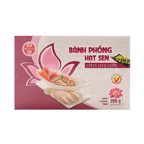 Banh Phong Hat Sen Bich Chi Hop 200g x Thung 25 Hop