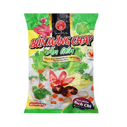 Bun Mang Chay Bich Chi Goi 60g x Thung 30 Goi