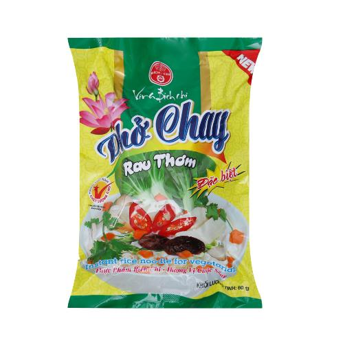 Pho Chay Rau Thom Bich Chi Goi 60g x Thung 30 Goi