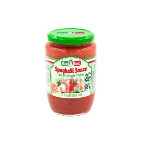Xốt Mì Spaghetti Truyền Thống Mama Rosa Lọ 370g