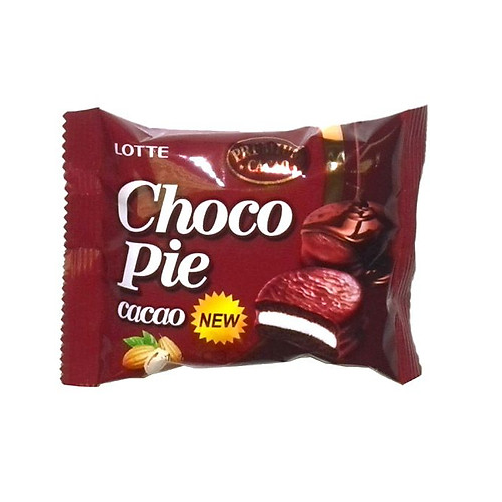 Banh Choco Pie Huong Vi Cacao Lotte Hop 336g,