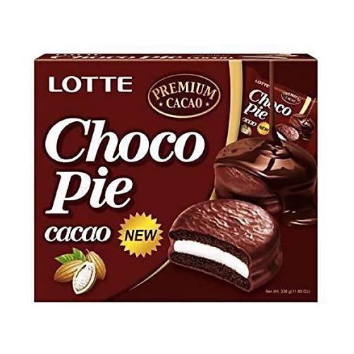 Banh Choco Pie Huong Vi Cacao Lotte Hop 336g