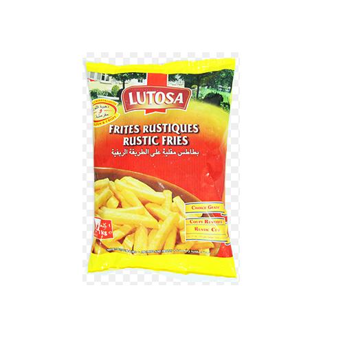 Khoai Tay Dong Lanh Rustic Potato Chips Lutosa Goi 1kg