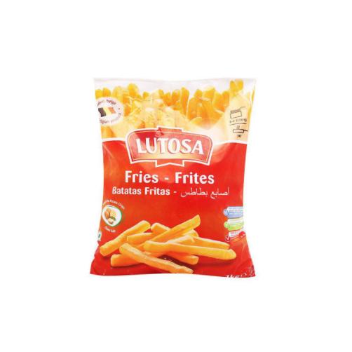 Khoai Tay Dong Lanh Soi Nho Potato Chips Lutosa Gói 400g