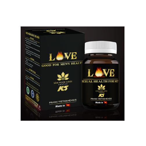 Love Good For Men's Health Sam Ngoc Linh Kon Tum K5 Hu 30 Vien