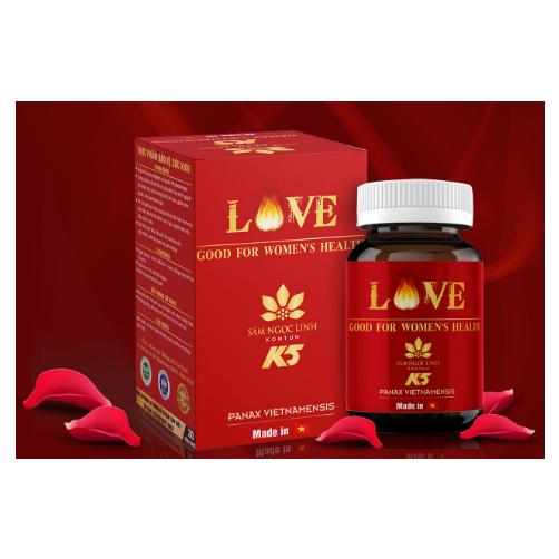 Love Good For Women's Health Sam Ngoc Linh Kon Tum K5 Hu 30 Vien