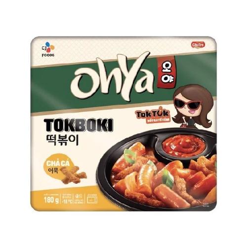 Ohya Tokboki Cha Ca Xot Tok Tok Sa Te Tom Thuc Pham Cau Tre Hop 180g